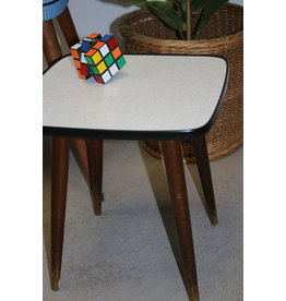 white squared plant table