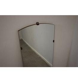 Grote Langwerpige wand spiegel zonder rand