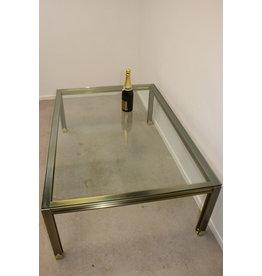 Langwerpige Bronze Salon Tafel