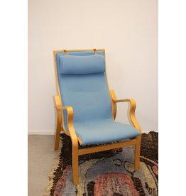 Ekström Lamello chair ligt blue Swedese Design