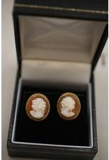 9 kt Cameo earrings Plugs