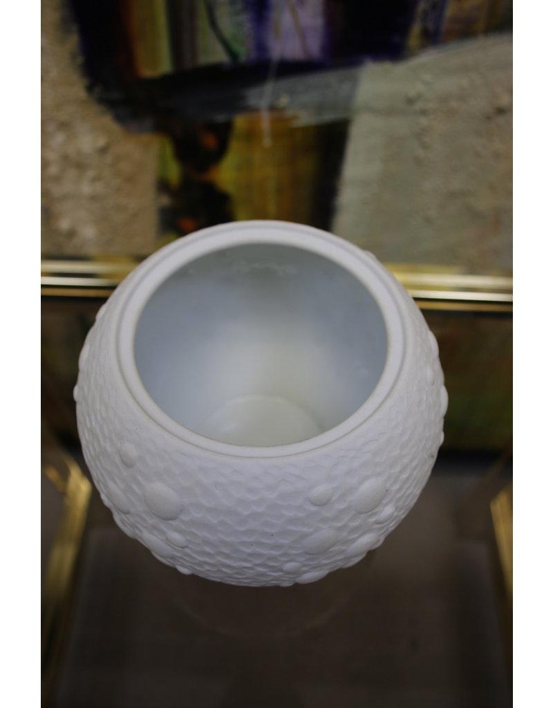 Royal Porzellan Bavaria witte bolle vaasje
