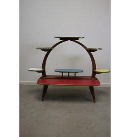 Etagere plantentafel jaren60