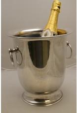 Verzilverde champagnekoeler wijnkoeler.