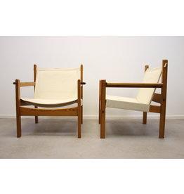 Vintage Design houten Stoelen 70 jaren