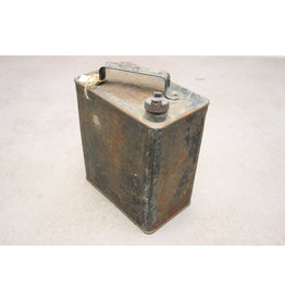 WW2 Engelse Benzine Jerrycan blauw van metaal 1941