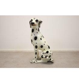 Vintage Italy Ceramic Dalmatian Dog