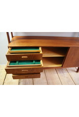 vintage teak highboard from Gunni Omman  jaren 60  Deens design