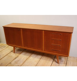 Danish Sideboard with 2 doors and 4 drawers