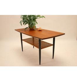 Deense Salontafel of koffie tafel met Bamboemad