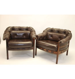 Rosewood armchair design by Sven Ellekaer