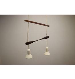 Scandinavische hanglamp met 2 lichtpunten