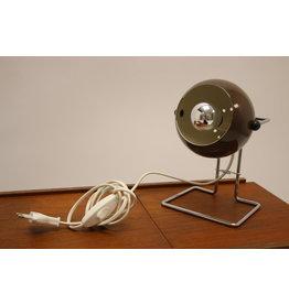 Scandinavian Brown sphere Table lamp