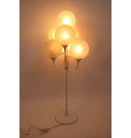 White floor lamp with 7 white bulbs 60 years