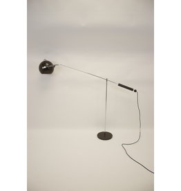 Brown rod floor ball lamp Gepo Amsterdam