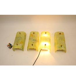 Philips Wandlampen met Glazenkap 50 jaren Zeldzame Stukken