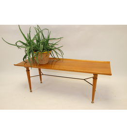 Coffee table with  base from Design A.A. Patijn made by  zijlstra