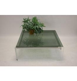Space age Plexiglass coffeetable