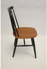 Deense Tapiovaara Nesto Pastoe jaren 60 teakhouten spijlen stoelen