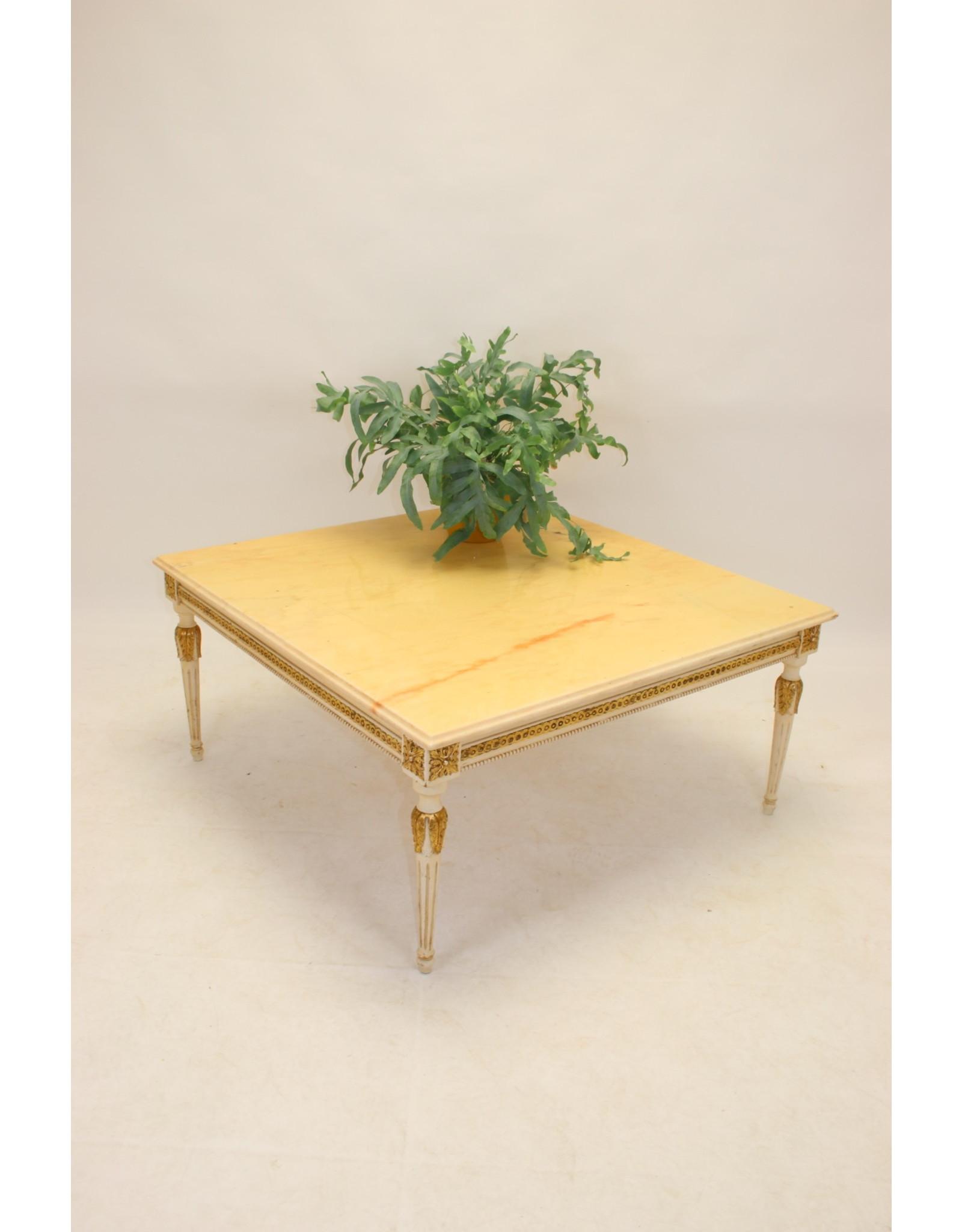 Italian Marble Coffee Table 1960 100 X 100 Cm Timeless Art Nl