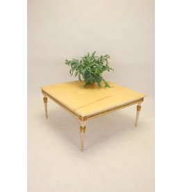 italiaanse marmer salontafel 1960 100 x 100 cm