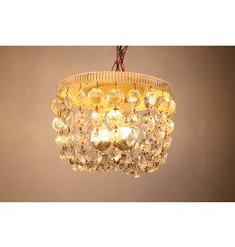 vintage Kristallen plafon zaklamp