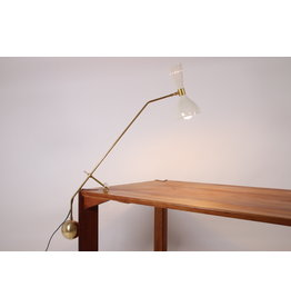Grote lange Big Thunderball Balancer Lamp Italy 1960