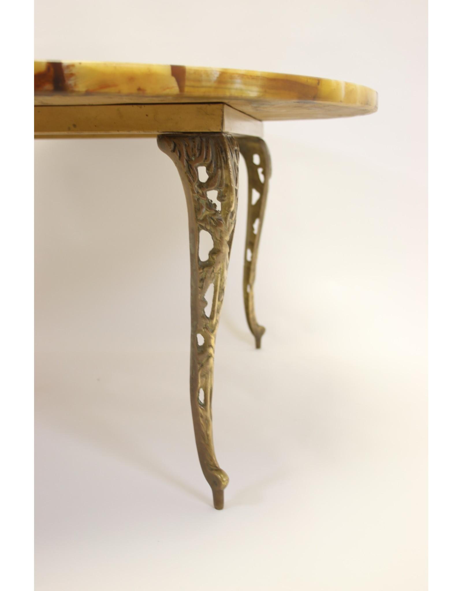 marmer epoxy salontafel 1960's