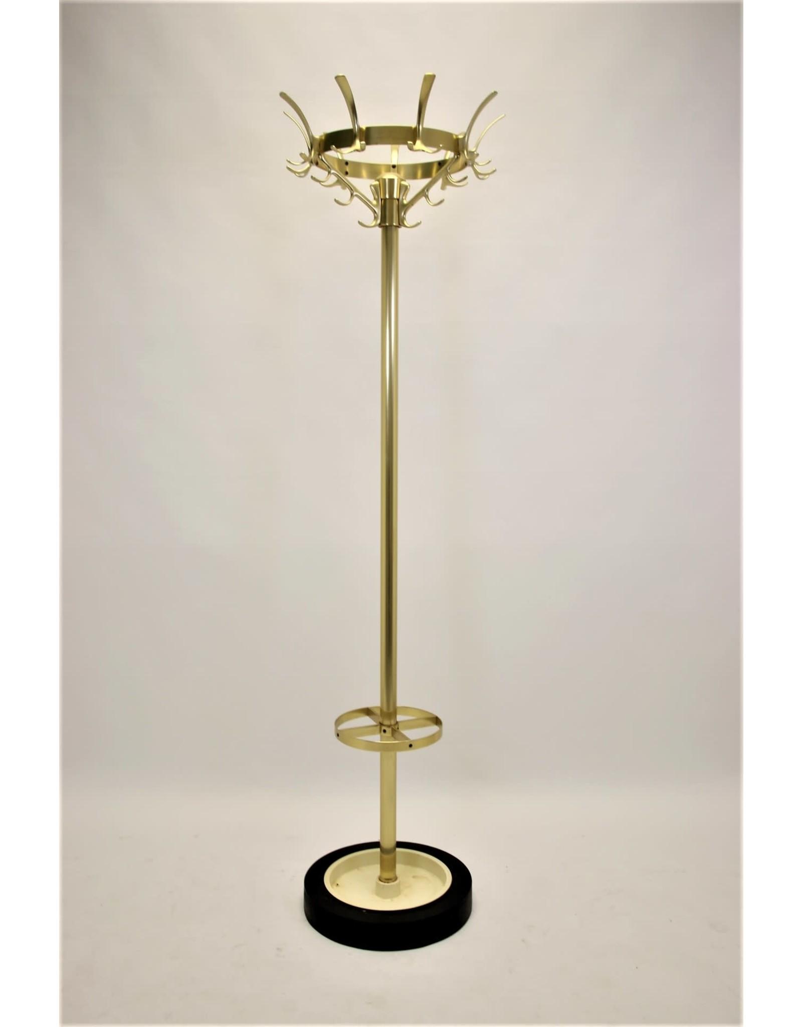 Gouden kroon vintage kapstok