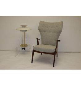 Vintage Armchair Handmade High back by Kurt Ostervig