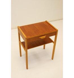 Danish side table or bedside table vintage model with drawer