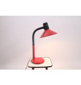 Grote Rode Zwarte Grote Bureau lamp