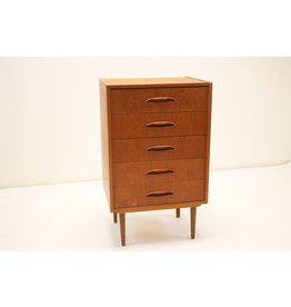 Vintage deens design 5 lade kast