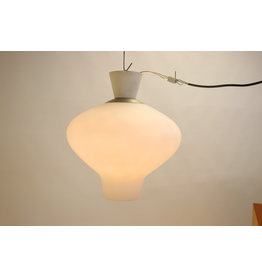 Large Milk White Outdoor lamp from ASEA from the 50s