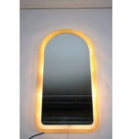 Large Illuminated Wall Mirror Egon Hillebrand 1970s