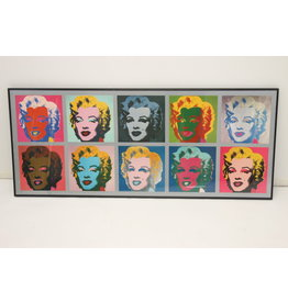 Large Pop art By Andy warhol From marilyn monroe