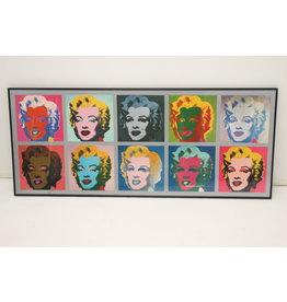Pop art By Andy warhol marilyn monroe