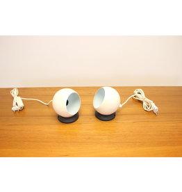 Set bolmagneet lampjes