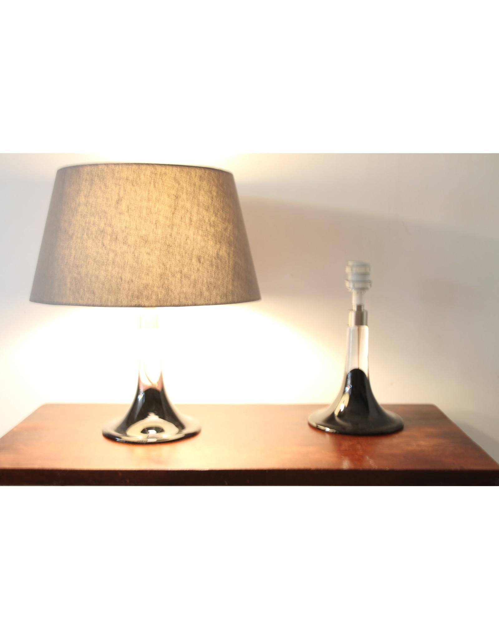 Glazen Lampen voeten Royal copehagen Model Lille