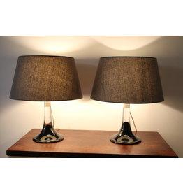 Glass Lamp Bases Royal Copenhagen Model Lille