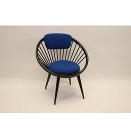 yngve ekstrom circle chair Black bleu