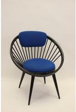 yngve ekstrom circle chair Zwart bleu