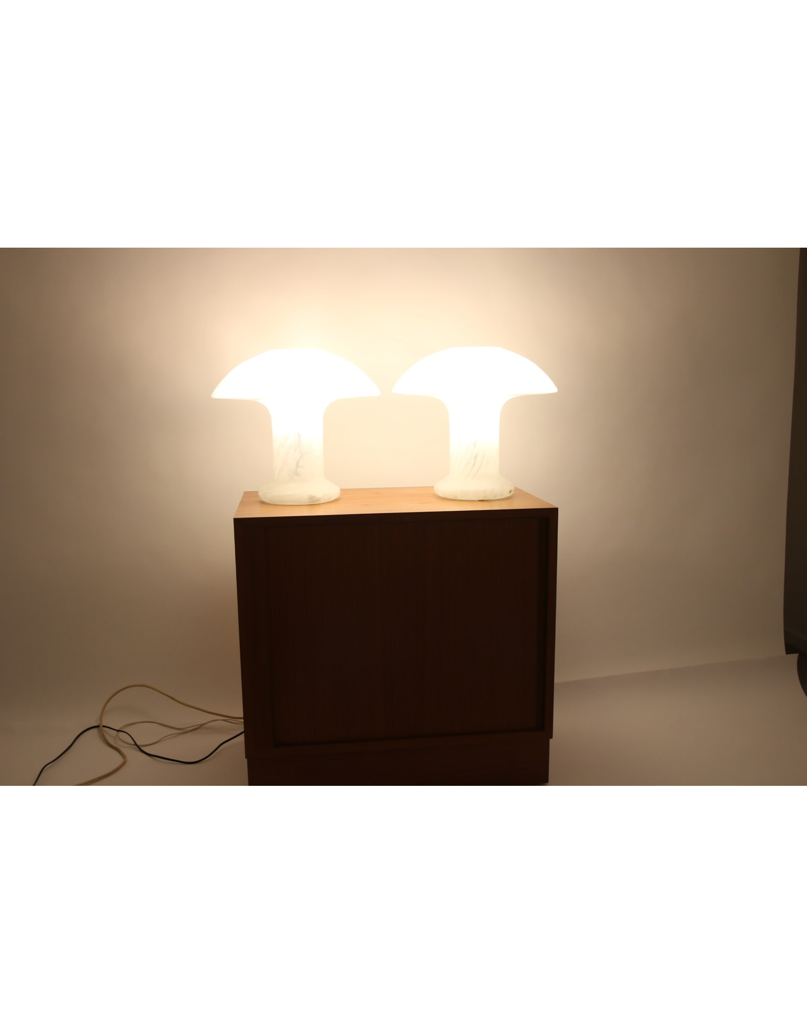 2 Peil und putzler mushroom Lamps