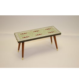 50 years Plant table with Mosaic Tile