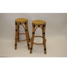 Bamboe barkruk set van twee