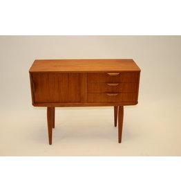 Teak wood Bedside table from Aksel Kjersgaard cabinet
