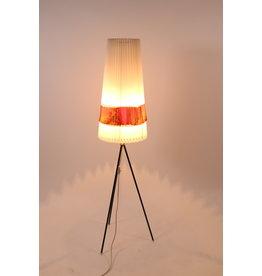 Staande lamp Aro leuchte met orginelen celluloide kap