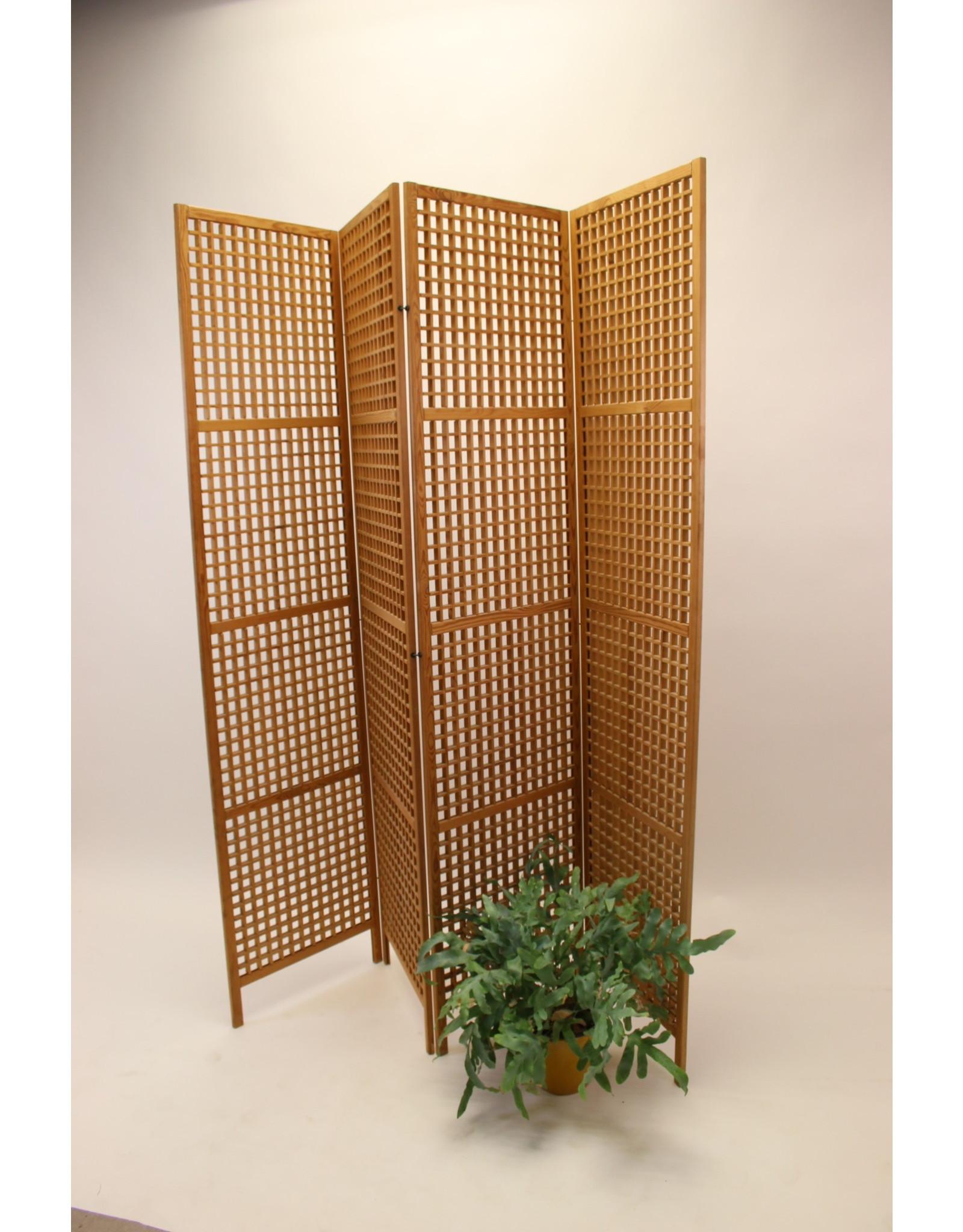 Folding Screen Room Divider Made Of Teak Timeless Art Nl