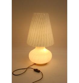 Vetri Venini murano glas mushroom lamp