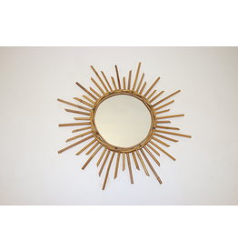 Vintage franse zonnestraal spiegel